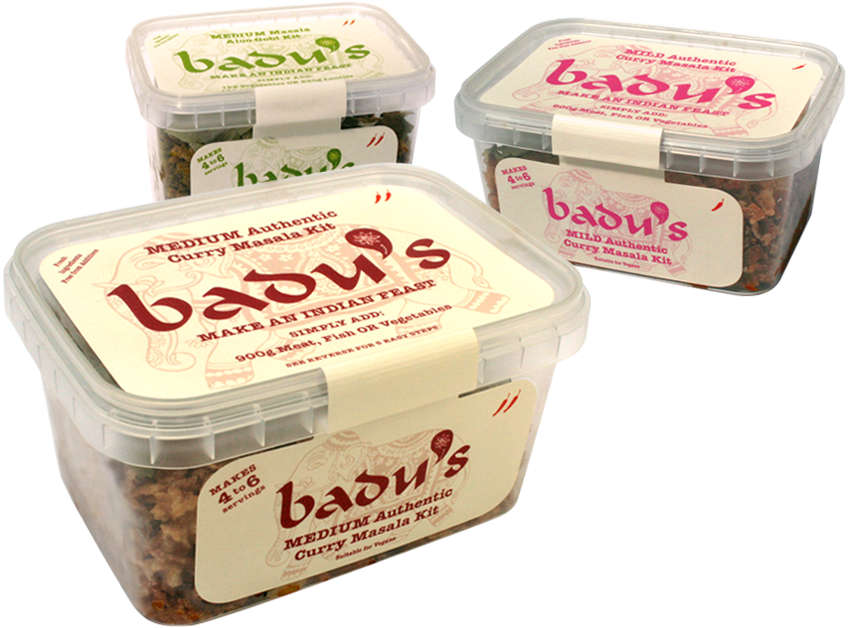 Badu's Indian Feast Masala Kits