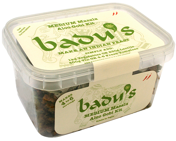 Badu's Medium Aloo Gobi Kit