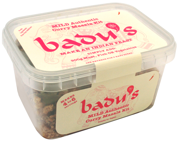 Badu's Medium Authentic Curry Masala Kit