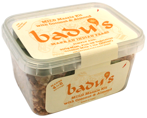 Badu's Mild Masala Kit with Coconut and Almond